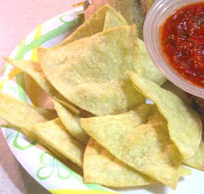 Homemade Tortilla Chips Recipe Photo