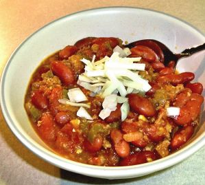 Chili with Meat and Beans Recipe Photo