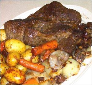 Beef Pot Roast Recipe Photo