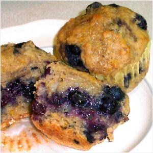 Blueberry Muffin Recipe Photo