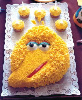 Big Bird Cake Recipe Photo