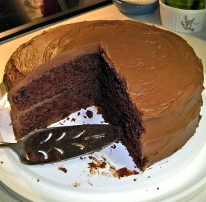Chocolate Cake Recipe Photo