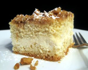Cream Cheese-Filled Crumb Cake Recipe Photo