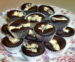 Miniature Chocolate Cupcakes Recipe Photo