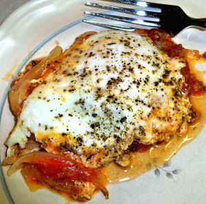 Eggs Poached in Tomatoes Recipe Photo