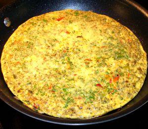 Italian Omelet Recipe Photo