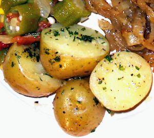 Parslied Potatoes Recipe Photo