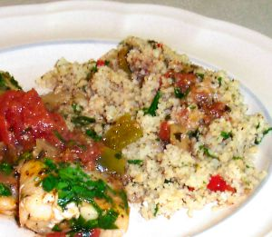 Herbed Couscous Recipe Photo