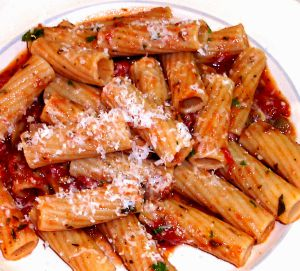 Pasta with Marinara Sauce Recipe Photo