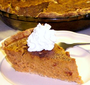 Pumpkin Pie Recipe Photo