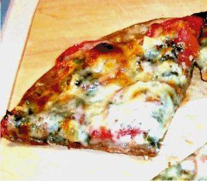 Fresh Tomato and Cheese Pizza Recipe Photo