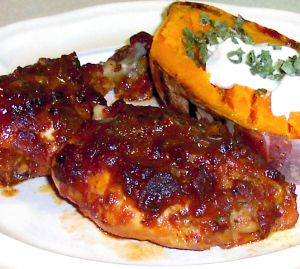 Barbecued Chicken Recipe Photo