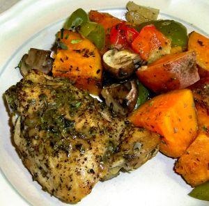Braised Chicken Recipe Photo
