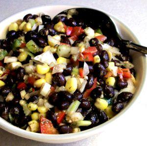 Black Bean and Corn Salad or Salsa Recipe Photo