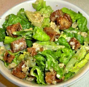 Eggless Caesar Salad Recipe Photo