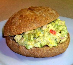 Chicken Salad Sandwiches Recipe Photo