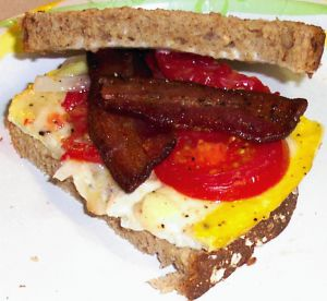Fried Egg Sandwiches Recipe Photo