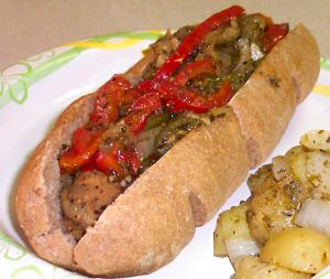 Italian Sausage Sandwiches Recipe Photo