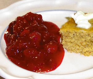 Homemade Cranberry Sauce Recipe Photo