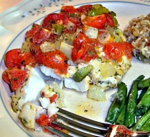 Baked Fish Fillets Recipe Photo