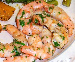 Roasted Shrimp Recipe Photo