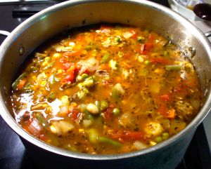 Beef Vegetable Soup Recipe Photo