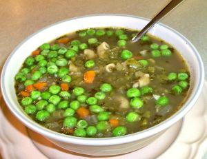 Double Pea Soup Recipe Photo