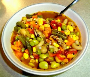 Hamburger Vegetable Soup Recipe Photo