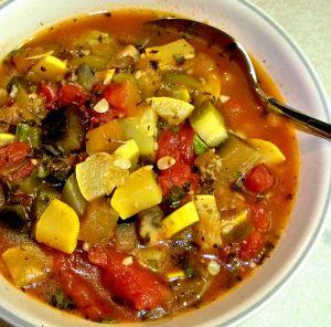 Summer Vegetable Stew Recipe Photo